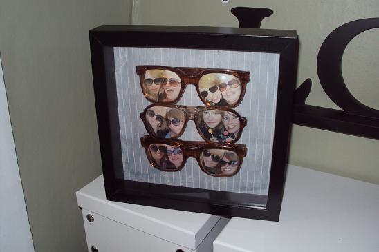 Glasses picture frames • Creative Ways to Repurpose Eyeglasses   ecogreenlove