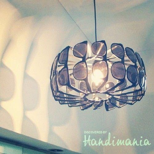 Glasses lamp • Creative Ways to Repurpose Eyeglasses   ecogreenlove