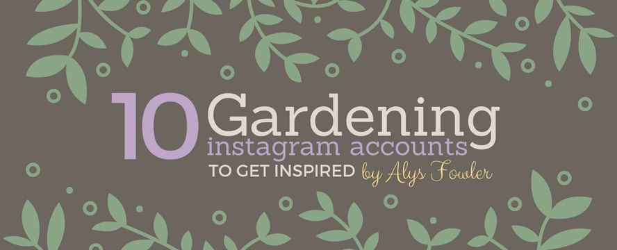 Best IG accounts for Gardeners [Infographic] | ecogreenlove