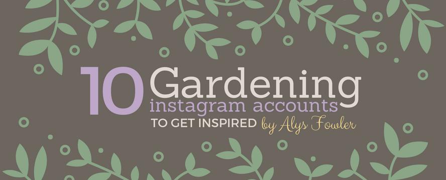 Best IG accounts for Gardeners [Infographic] | ecogreenlove