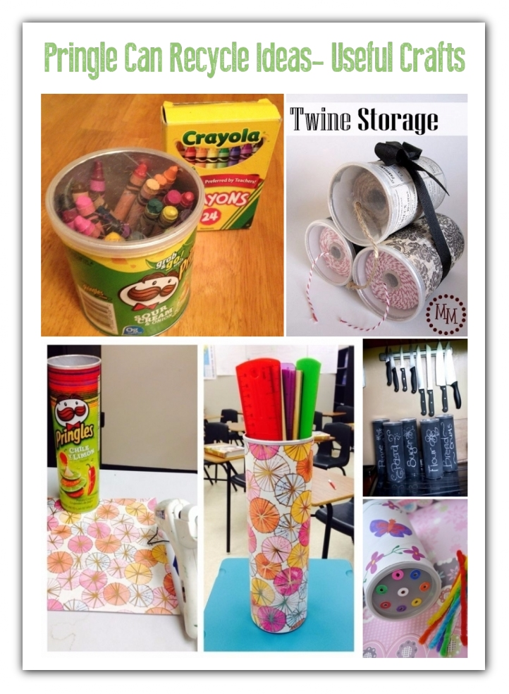 Creative Ways to Repurpose Pringles tube cans | ecogreenlove