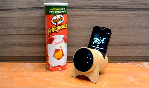 Pringles Amplifier • Creative Ways to Repurpose Pringles can tubes | ecogreenlove