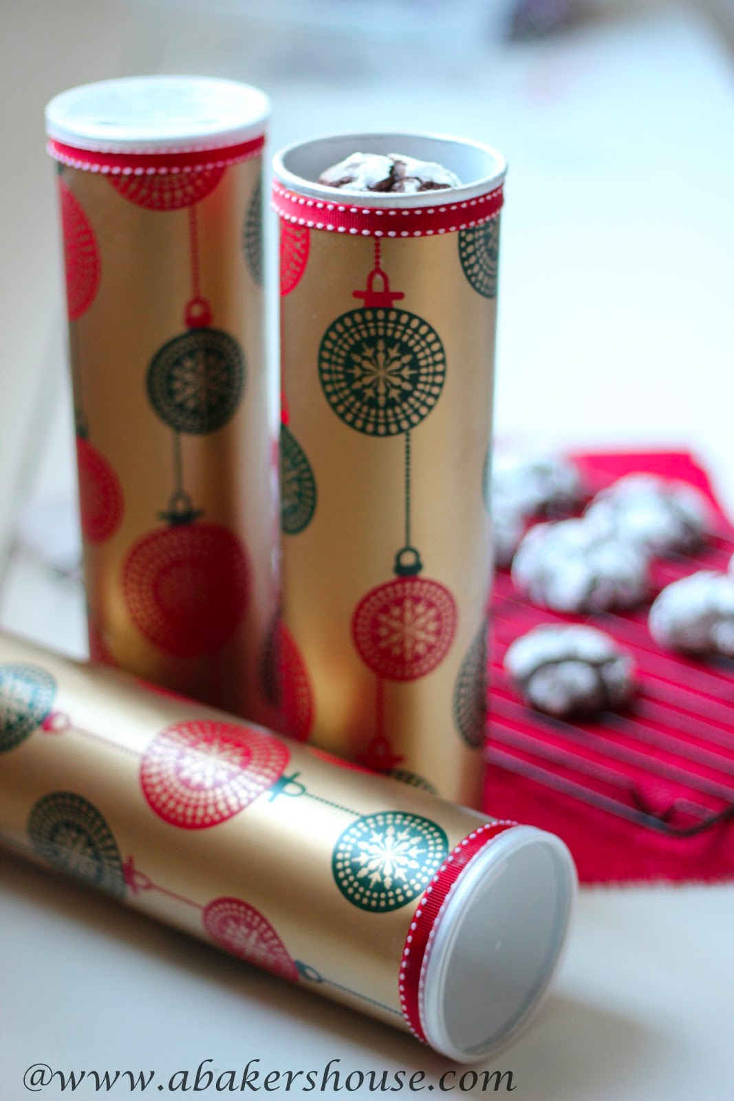 Cookie gift packaging • Creative Ways to Repurpose Pringles can tubes | ecogreenlove