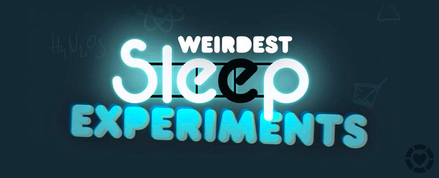 Weirdest Sleep Experiments [Infographic]   ecogreenlove