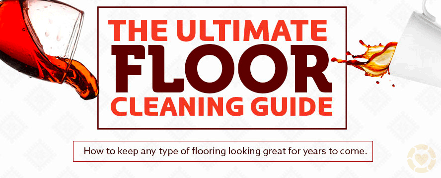 Floor cleaning guide [Infographic] | ecogreenlove