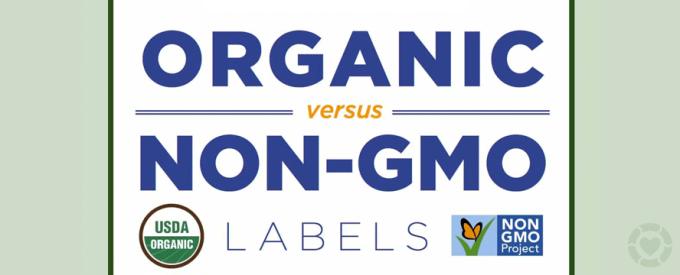 Organic vs. Non-GMO labels [Infographic]   ecogreenlove