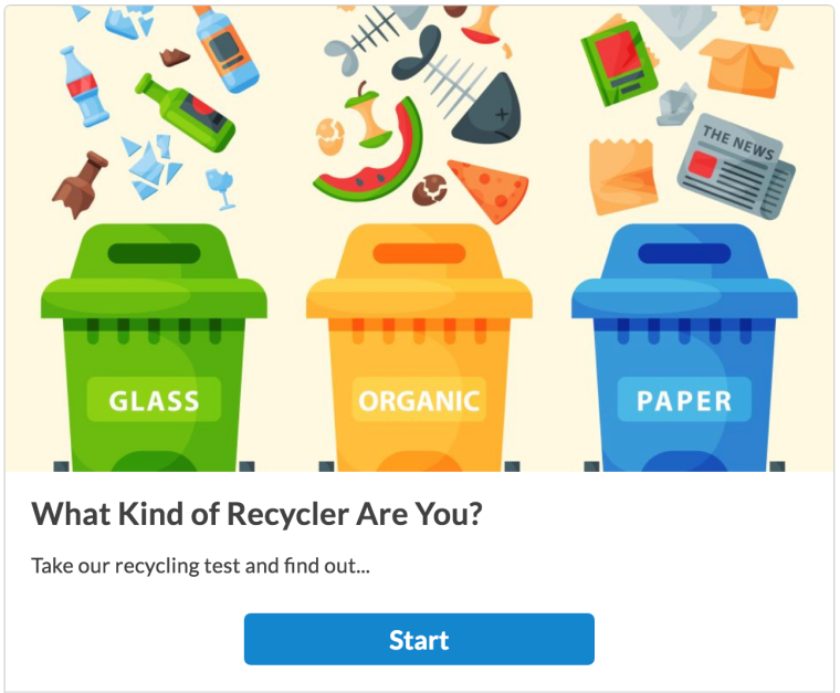 What Type Of Recycler Are You Quiz Ecogreenlove
