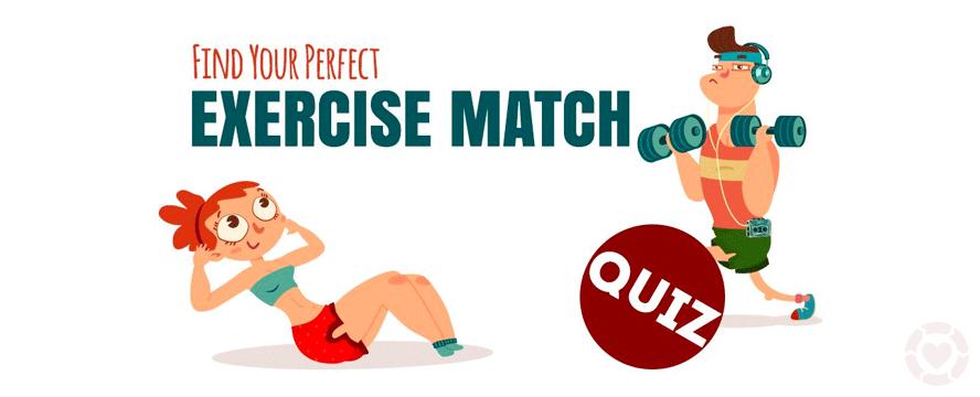Your perfect Exercise Match [Quiz] | ecogreenlove