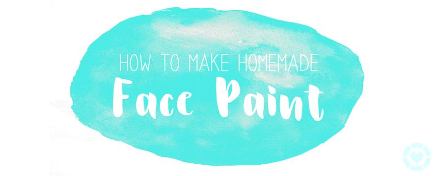 DIY: Homemade Face Paint [Recipe]