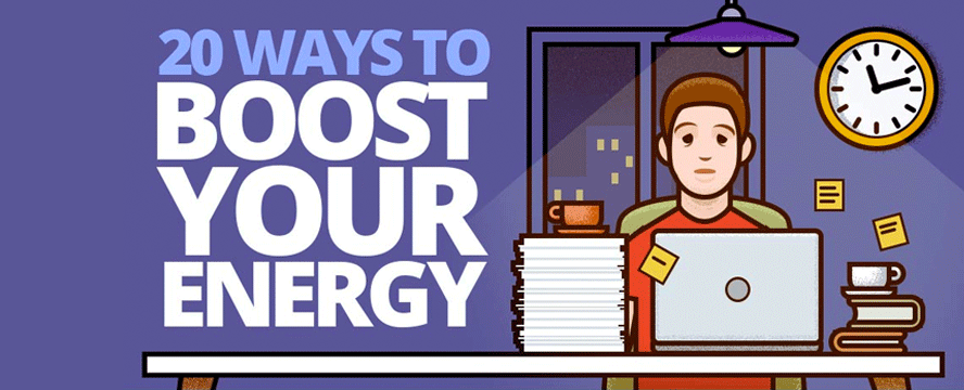 Ways to Boost your Energy naturally [Infographic] | ecogreenlove