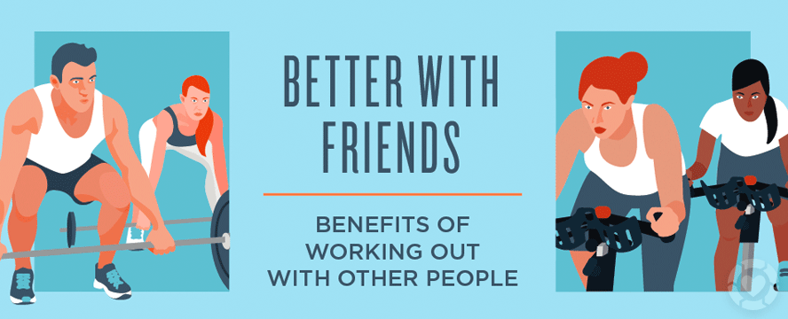 Benefits of Exercising With Other People [Infographic] | ecogreenlove