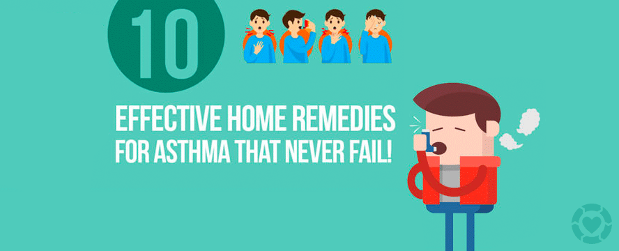 Effective Home Remedies for Asthma [Infographic] | ecogreenlove