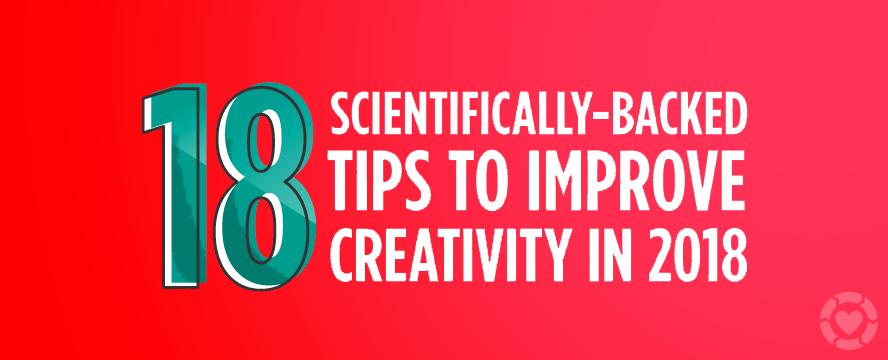 Science-backed ways to Improve Creativity [Infographic] | ecogreenlove