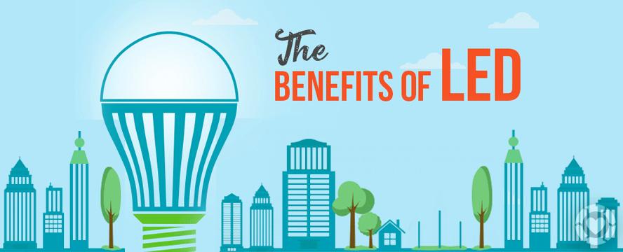 Benefits Of Led Infographic Ecogreenlove