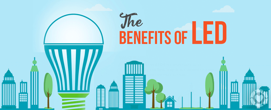 Benefits of LED [Infographic] | ecogreenlove