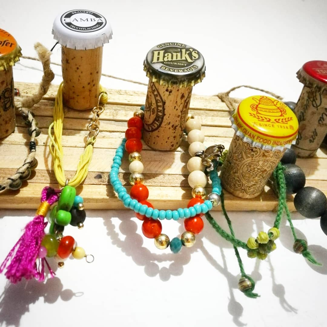 Upcycled Jewellery hanger | ecogreenlove