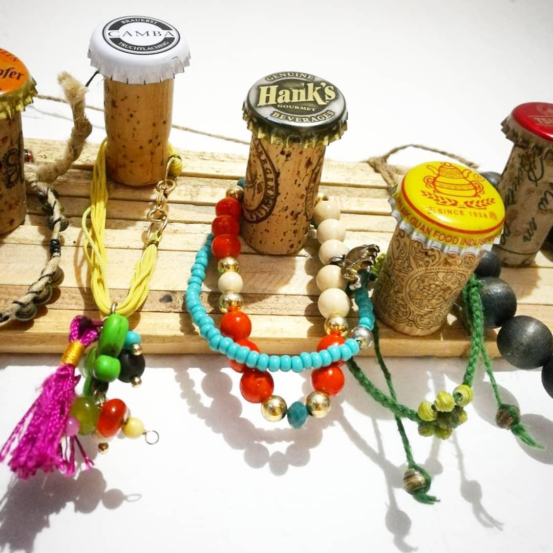 Upcycled Jewellery hanger | ecogreenlove