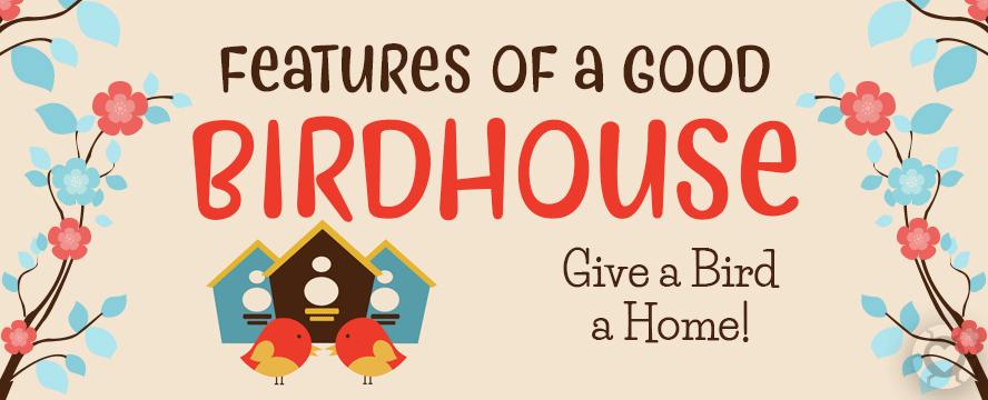 Building the perfect Birdhouse [Infographic] | ecogreenlove