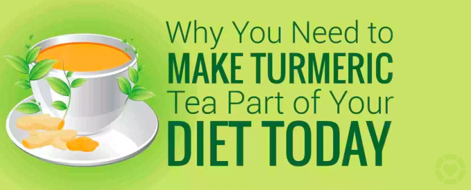 Turmeric Tea Benefits [Infographic] | ecogreenlove