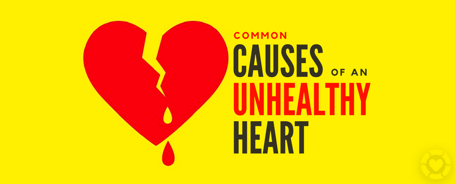 Common Causes of an Unhealthy Heart