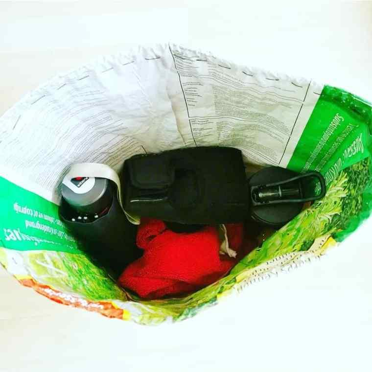 DIM: Upcycled Gym bag | ecogreenlove