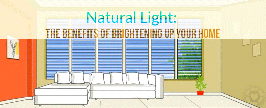 Natural Light - The Benefits of brightening up your Home [Infographic] | ecogreenlove