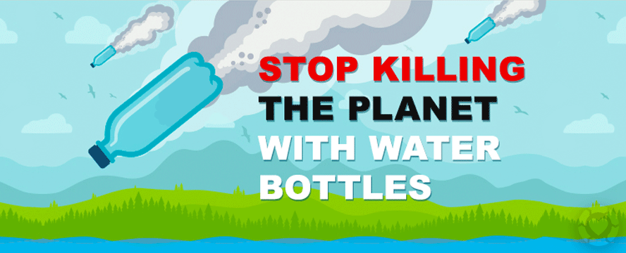 Plastic Water Bottle Pollution [Infographic] | ecogreenlove