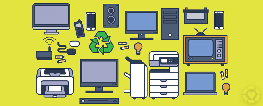 How to Recycle Electronics [Infographic] | ecogreenlove