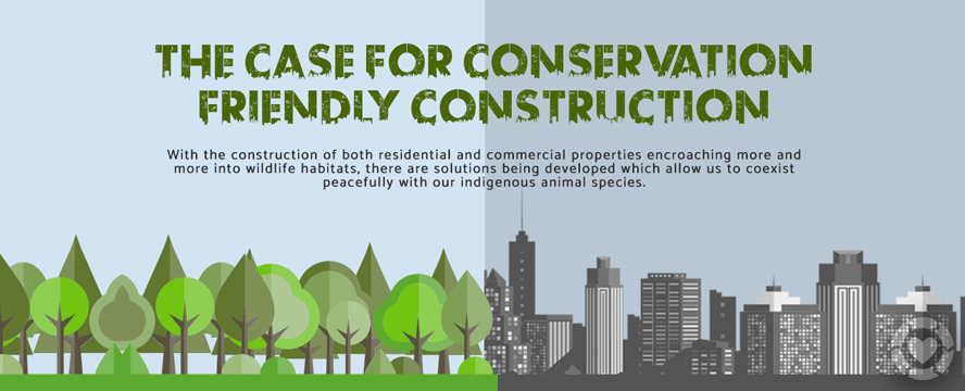 Conservation Friendly Construction [Infographic] | ecogreenlove