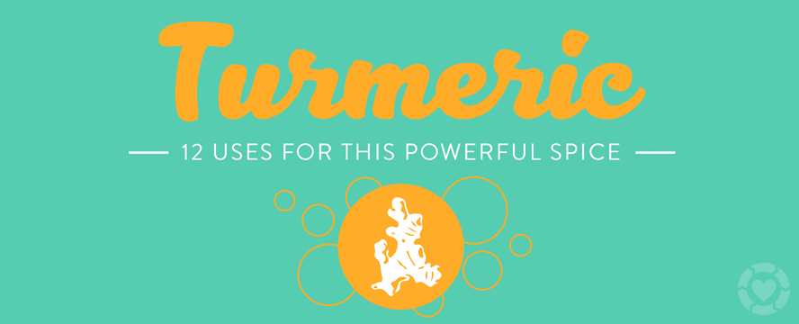 12 Uses for Turmeric + Benefits [Infographic]