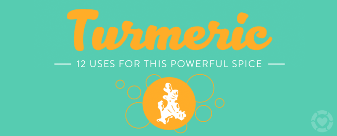 12 Uses for Turmeric + Benefits [Infographic] | ecogreenlove