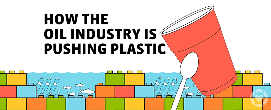 How the Oil industry is pushing Plastic [Infographic] | ecogreenlove