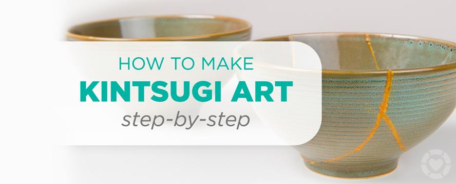 Kintsugi: Repairing Pottery Art [Visual] | ecogreenlove