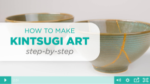 Kintsugi: Repairing Pottery Art [Video] | ecogreenlove
