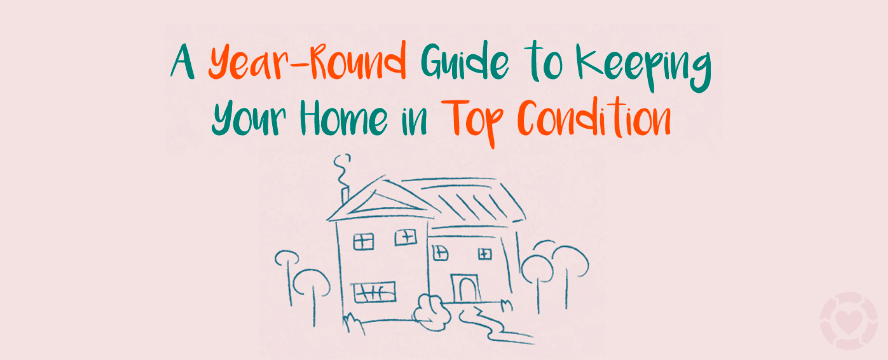 A Year-Round Guide to Essential Home Maintenance [Infographics] | ecogreenlove