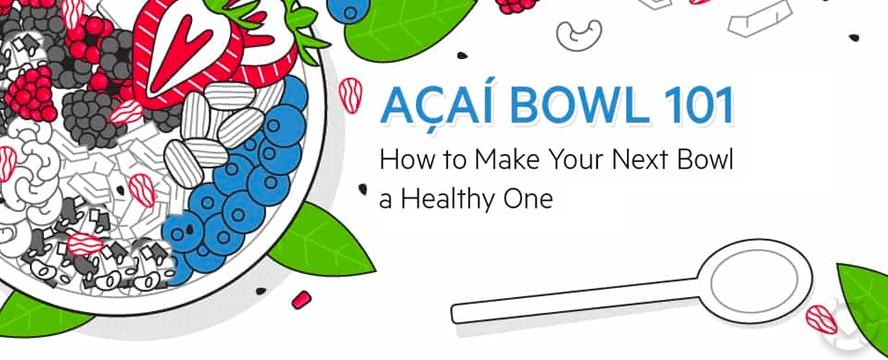 Açaí Bowls 101 [Infographic] |ecogreenlove