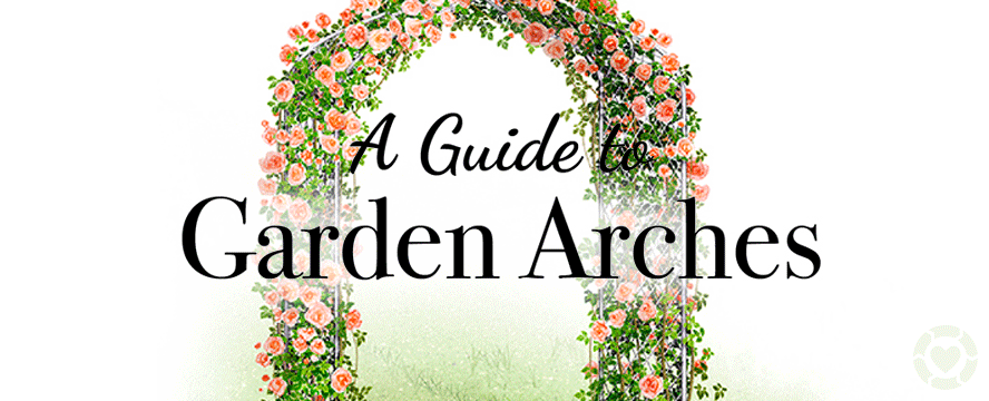 Garden Arches and Arbours [Infographic] | ecogreenlove
