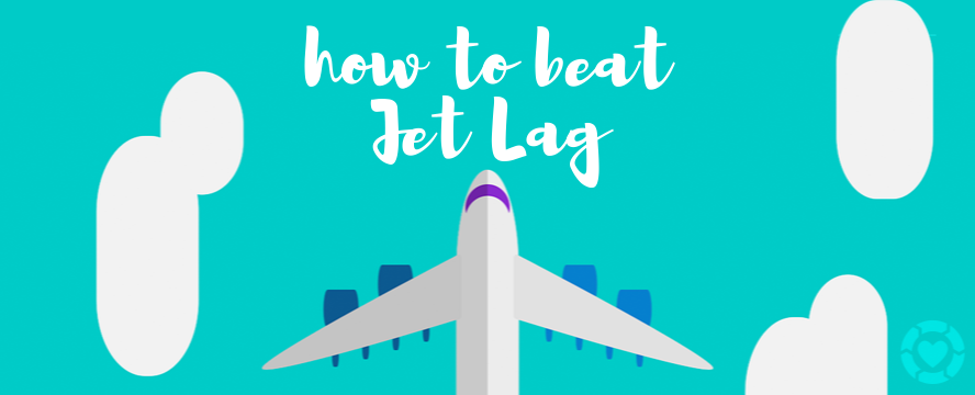 How to beat Jet-Lag [Infographic] | ecogreenlove