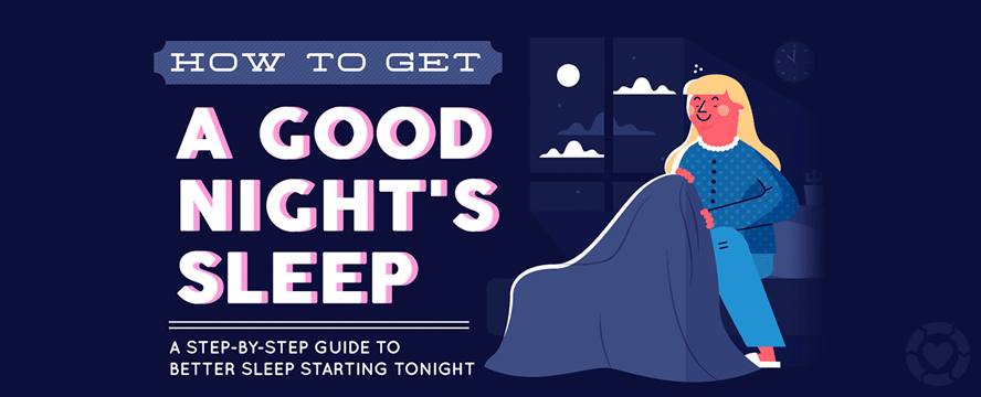 How to get a Good Night's Sleep [Infographic] | ecogreenlove