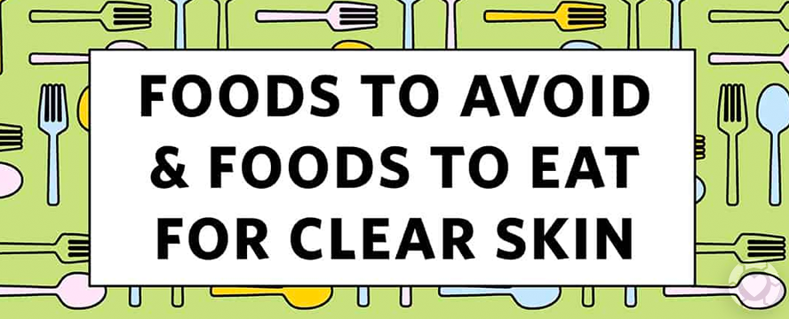 The effect of Foods on a Healthy Skin [Visual]   ecogreenlove
