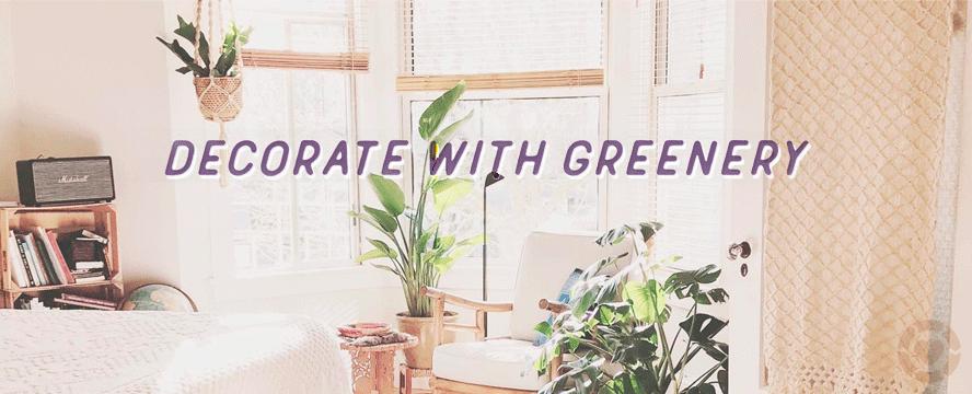 Decorate With Greenery [Visuals]   ecogreenlove