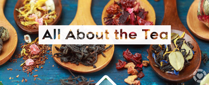 All About the Tea [Infographic] | ecogreenlove