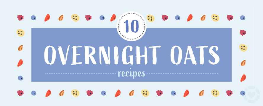Healthy Overnight Oats Recipes [Infographic] | ecogreenlove