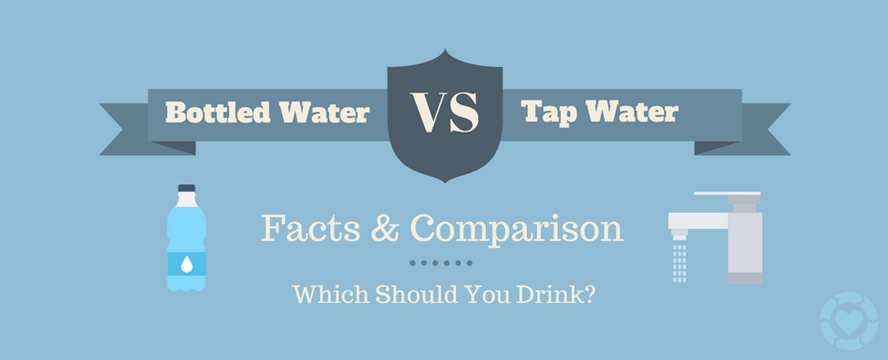 Tap Water vs Bottled Water [Infographic]