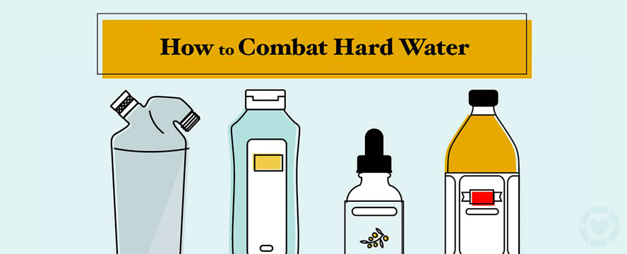 How to deal with Hard Water Hair [Infographic] | ecogreenlove
