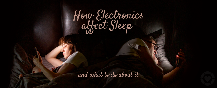 How Electronics affect Sleep and what to do about it [Infographic] | ecogreenlove