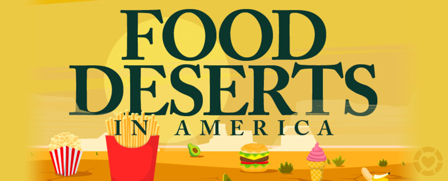 Food Deserts in America [Infographic]