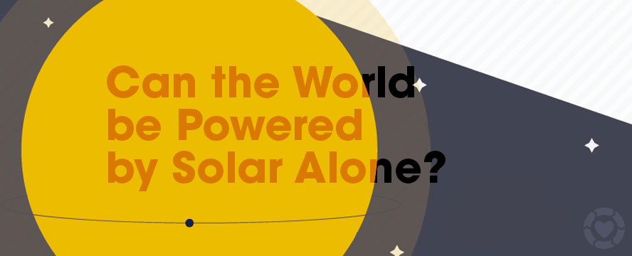 How we can Power the Earth by Solar alone [Infographic] | ecogreenlove