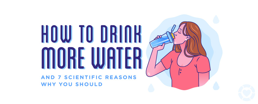 Scientific Reasons why you should Drink More Water [Infographic] | ecogreenlove