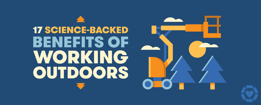 Science-Backed Benefits of Working Outdoors [Infographic]